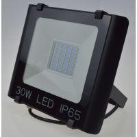 和虹30WLED投光灯黑色压铸铝合金散热器