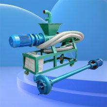 河北抚宁县牛粪脱水机 利用率高的粪便分离机 螺旋挤压脱水机