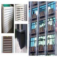 铝合金空调室外机罩 户外铝镂空空调外机散热罩