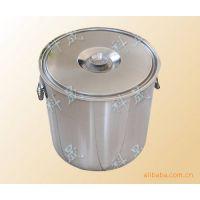 供应定制不锈钢桶 不锈钢密封桶 不锈钢直口桶
