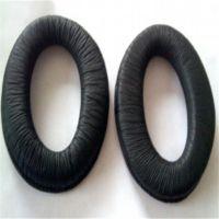 出售柔软柔纹皮耳套 热压各种多边椭圆形皮耳罩 来样来图做慢回弹