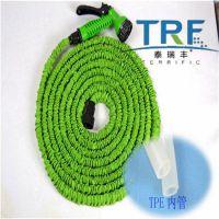可挤出加工伸缩水管TPE材料/泰瑞丰厂家直销高回弹高耐压魔术管TPE