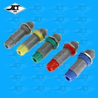 医疗塑料航空插头接线 推拉自锁2芯3针4芯5芯6芯7 芯8针10针14芯连接器