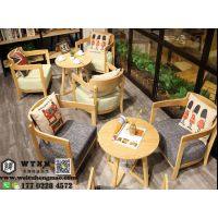 天津餐厅桌椅 快餐店经济实惠桌椅 奶茶店桌椅