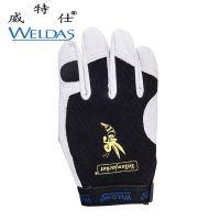 威特仕10-2670驾驶员手套 防油减震手套 羊皮机械师手套