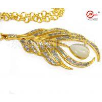 A金属饰链,服装饰链,合金+铜质装饰链可点东莞钮纽