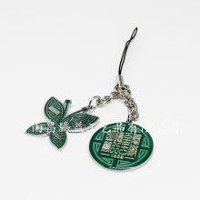 供应礼品手机吊饰品 公司企业钥匙扣 奖牌 标牌 徽标 徽章 奖牌 胸牌定制厂家