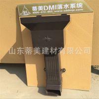 大口径雨水管丨大口径铝合金落水管丨120*90方形排水管厂家直销