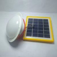 家用太阳能可充电锂电LED飞碟灯夜市地摊照明灯飞碟球泡灯