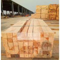 梅州进口铁杉木方 建筑夹板 工地方条批发厂家