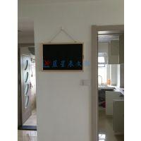 从化挂式磁性黑板L梅州双面可书写粉笔黑板C揭阳店铺广告板