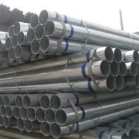 批发销售热浸锌钢管 Q235内外热镀锌钢管 利达消防镀锌管