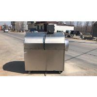 榨油配套 油菜籽煤柴炒料机 电磁滚筒炒货机
