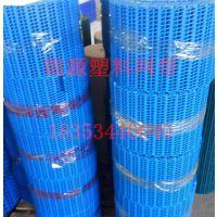 高品质塑料网带直行链板转弯输送带PP食品级熟料网带