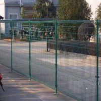 厂家直销 双圈护栏网 浸塑铁丝市政卷圈防护网