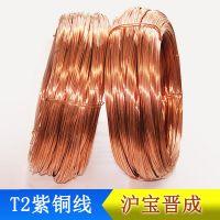 沪宝铜线材厂家 C1100进口紫铜线 惠州紫铜线批发