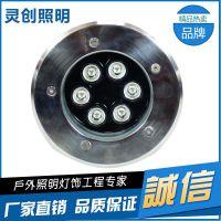 LED户外照明方形地埋灯 IP67防水性能强 质量好 DMX512外控地埋灯