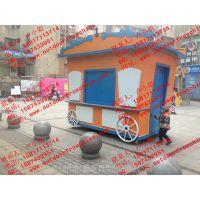 无锡游乐园售货亭广场移动贩卖花车万达零售亭奶茶售货车