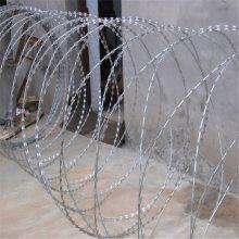 刀片刺绳安装 刀片的作用 钢丝刺绳