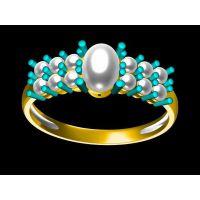 定做白玉男戒指 灵魂戒指 金戒指怎么缠—菩提饰品生产厂家