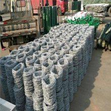 学校刺绳 热镀锌钢丝规格表 围墙铁蒺藜厂