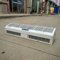 商超大门用1.5米贯流式电热风幕机