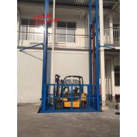徐州小型厂房货梯室内外升降货梯定做/天锐液压升降机厂家