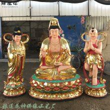 豫莲花定制塑造观音菩萨在道教叫什么、慈航道人、鳌鱼、白衣、青衣、送子观音菩萨佛像、