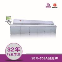 供应紫光日东回流焊SER-708A无铅热风回流焊
