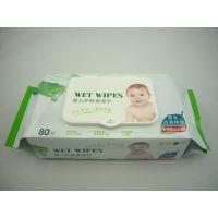 全棉湿巾生产厂家 深圳手口湿巾贴牌 50g无纺布卫生湿纸巾