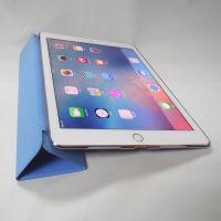 苹果new ipad 9.7寸皮套 电压平板保护壳 三折对吸休眠 工厂直销