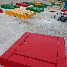地埋双层油罐专用1.35米*1.35米方形复合材料加油站操作井盖【润飞】