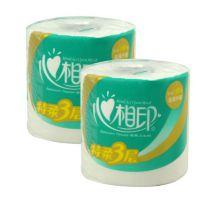 北京供应心相印三层180克卷筒纸专业卫生纸厂家