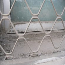 批发美格护栏网 铝合金美格网 窗户防盗网片