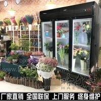 鲜花保鲜展示柜 鲜花冷藏柜 花店专用鲜花保鲜柜 玻璃门风冷冰柜