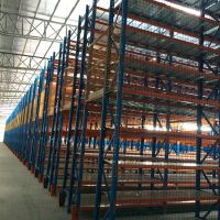 广州易达生产电商仓库组合式 阁楼货架 高层货架仓库