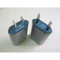 欧规插脚USB适配器 5V1A电源适配器 CE ETL认证充电器 墙充USB旅充 火牛