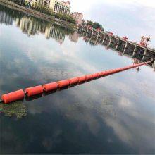 黄浦江分段拦污浮筒 水源地外围警戒浮筒