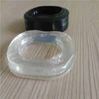 厂家直销液体硅胶皮耳套 慢回弹海绵填充环保透明皮耳套
