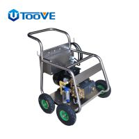 拓威克280公斤高压清洗机TE28/15除不干胶除广告高压清洗机