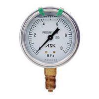 供应武汉办事处日本ASK OPG-AT-G38-75 电磁式油压表 水压计 气压表