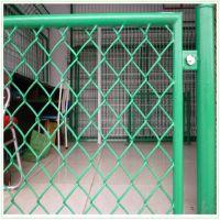 德邦供应沈阳球场勾花护栏网 足球场浸塑菱形孔护栏网