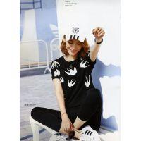 南京沙河服装批发市场杭州欧美品牌折扣女装加盟多种款式批发品牌折扣店鸿星米兰夏装