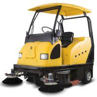 工厂小区用驾驶式扫地机|明诺电动扫地车I800W