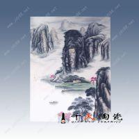 陶瓷画瓷板画供应销售大幅宣传画瓷板画定制订做瓷板画加工