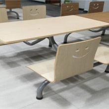 陆丰饭堂快餐桌椅潮阳学校食堂快餐桌椅厂家直销价格从优