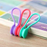 磁铁绕线器磁铁 硅胶创意耳机收线器硅胶集线器迷你包装厂家直销