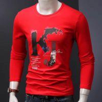 男装纯棉T恤供应便宜男装T恤新款男女T恤打底衫货源五到八元长袖供应