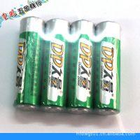 久量高能碳性5号电池 四粒简装 环保经久耐用电池批发