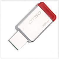 正品金士顿u盘32g u盘USB3.1 32GB 金属U盘 DT50 旋转 特价u盘32g 行货 优